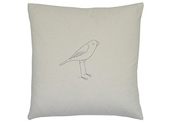 k studio Large Bird Pillow