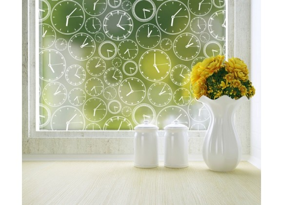 Odhams Press About Time Privacy Adhesive Window Film