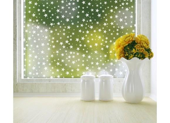 Odhams Press Star Struck Privacy Adhesive Window Film