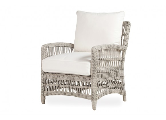 Mackinac Lounge Chair in Putty Wicker