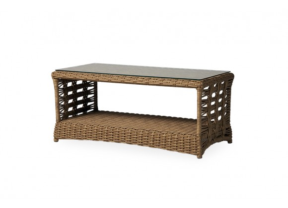 "Magnolia 42.5"" Rectangular Cocktail Table in Sandcastle"