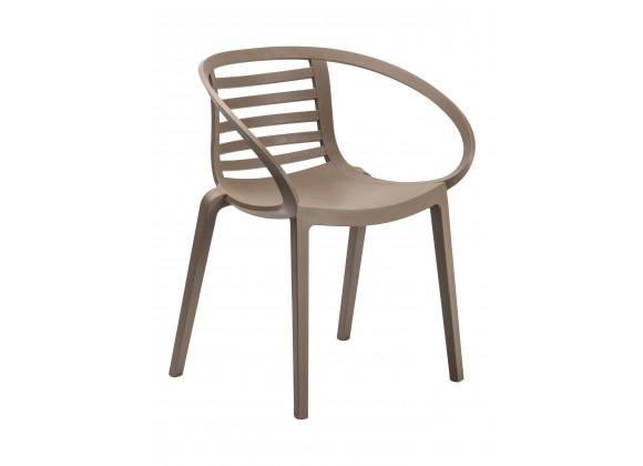 Polypropylene Reinforced With Fiberglass Arm Chair - MAMBO A
