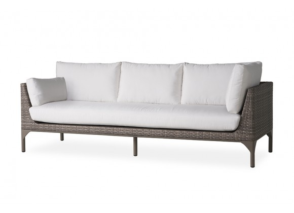 Martinique Sectional Sofa in Granite - Angled