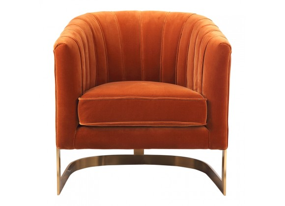 Moe's Home Collection Carr Arm Chair Orange