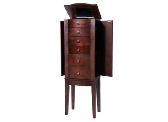 "Powell ""Merlot"" Jewelry Armoire"