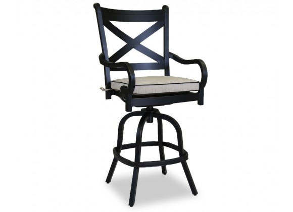 Monterey Counter Stool With Cushions - Front