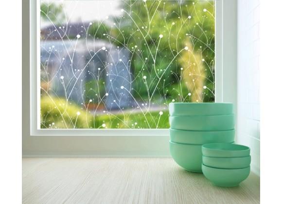 Odhams Press Willow Sheer Adhesive Window Film