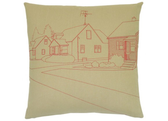 k studio Neighborhood Pillow