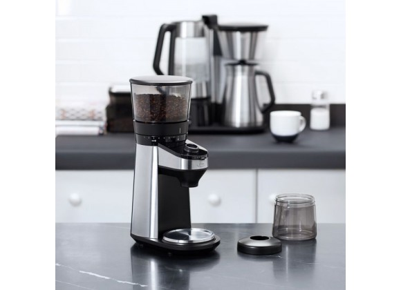 Oxo On Conical Burr Coffee Grinder With Scale - Lifestyle