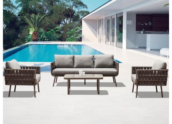 Whiteline Modern Living Oasis Indoor / Outdoor Set