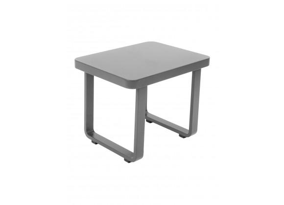 Palm Beach End Table - Aluminum
