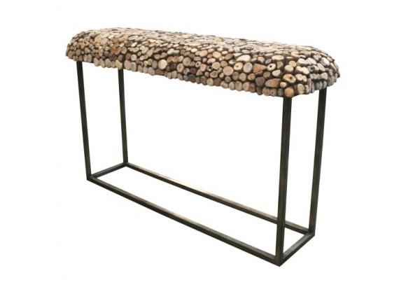 Bellini Modern Living Pebble Sofa Table