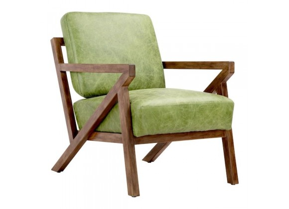 Moe's Home Collection Drexel Arm Chair - Green - Perspective