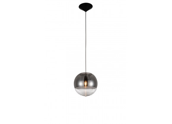 Leo Pendant Lamp Clear Glass - Front