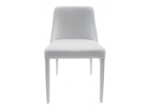Polly Chair In White - Front