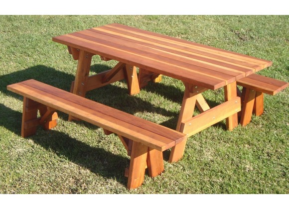 Picnic Table - Angled View