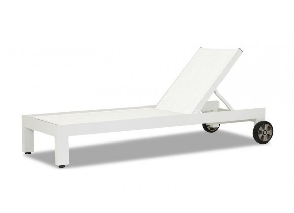 Sunset West Newport Adjustable Sling Chaise - Perspective