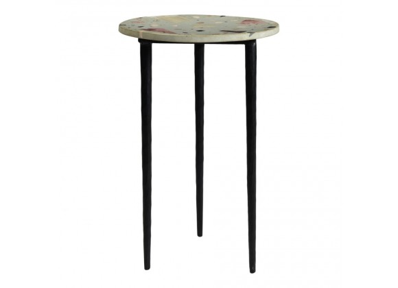 Moe's Home Collection Menta Terrazzo Side Table