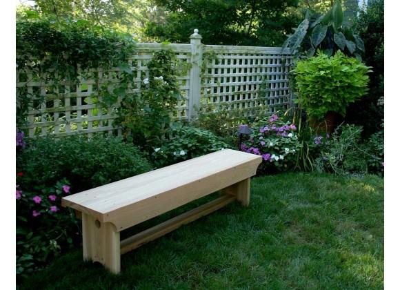 5' Cedar 1805 Traditional Heavy Duty Bench