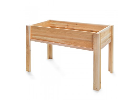 All Things Cedar 4' Raised Garden Box on Legs