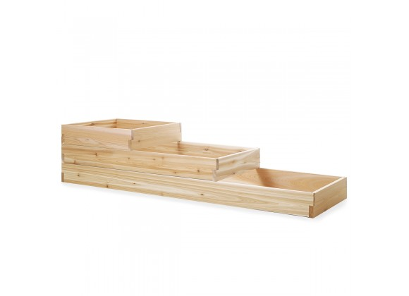 All Things Cedar 6' Tiered Garden Box - Side