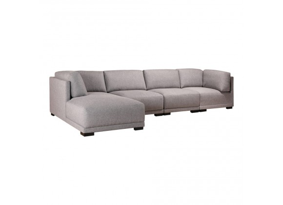 Moe's Home Collection Romeo Modular Sectional Sofa w/ Left Chaise - Perspective