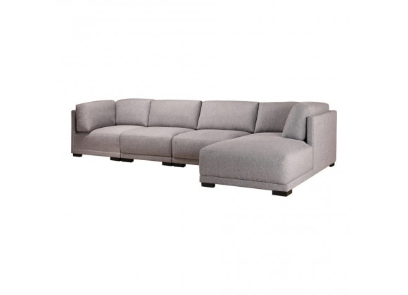 Moe's Home Collection Romeo Modular Sectional Sofa w/ Right Chaise - Perspective