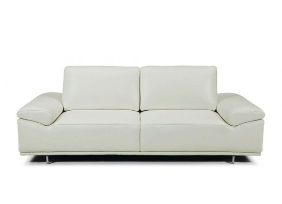 Roxanne Loveseat With Adjustable Back & Arm Cushions Light Grey