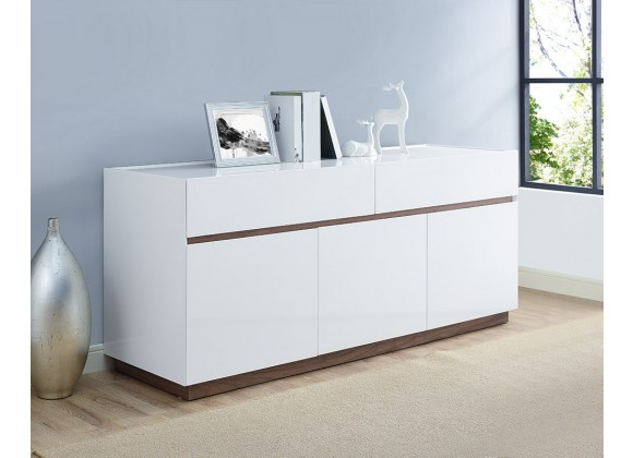Serena Buffet Whole Body In High Gloss White - Lifestyle