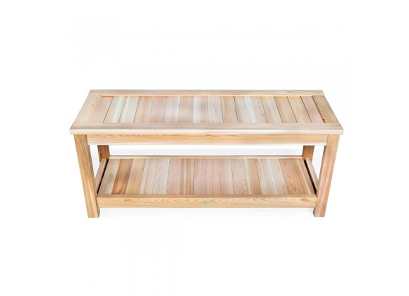 All Things Cedar Deluxe Sauna Bench