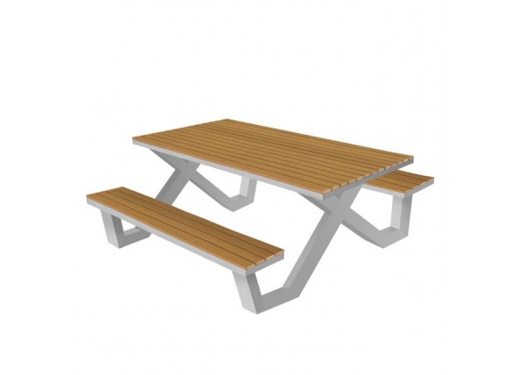 "Vienna 6"" Picnic Table - Teak"