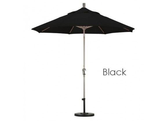 California Umbrella 9' Aluminum Market Umbrella Auto Tilt Champagne - Pacifica