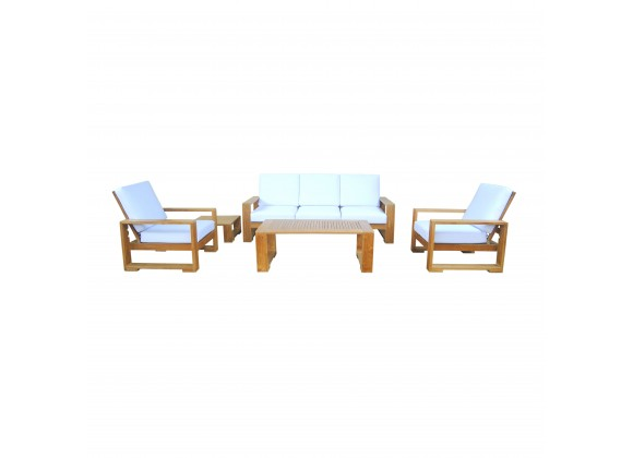 Capistrano 5-Piece Deep Seating Sofa Collection - With Cushion
