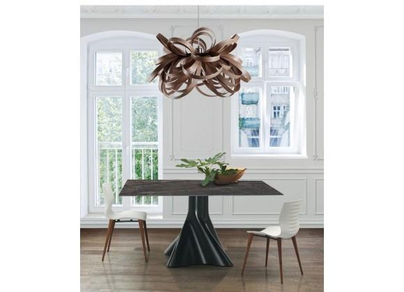 Shift Rectangular Dining Table In Noir Desir