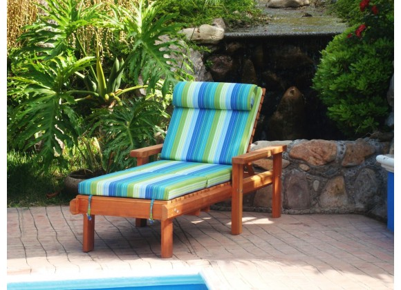 Summer Lounger - Single - With Cushions