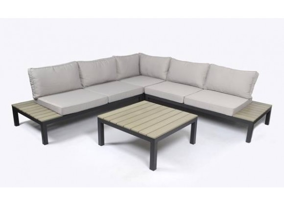 Sky Rise 4PC Outdoor Patio Sectional Set