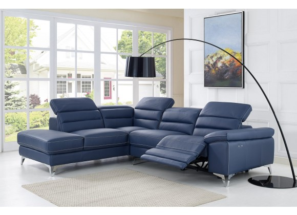 Johnson Sectional With Chaise On Left - Lifestyle