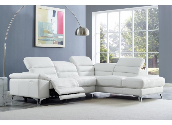 Johnson Sectional WIth Chaise On Right - Lifestyle