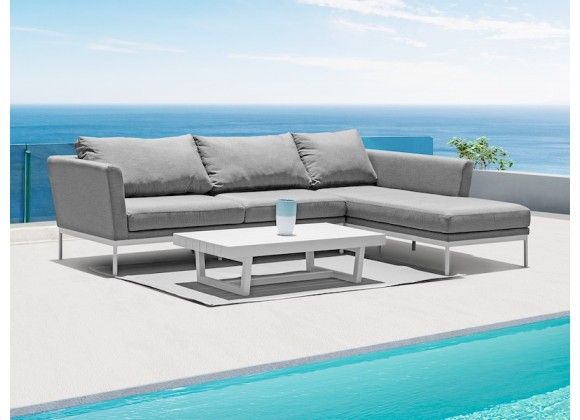Whiteline Modern Living Ursula Indoor / Outdoor Sectional Chaise