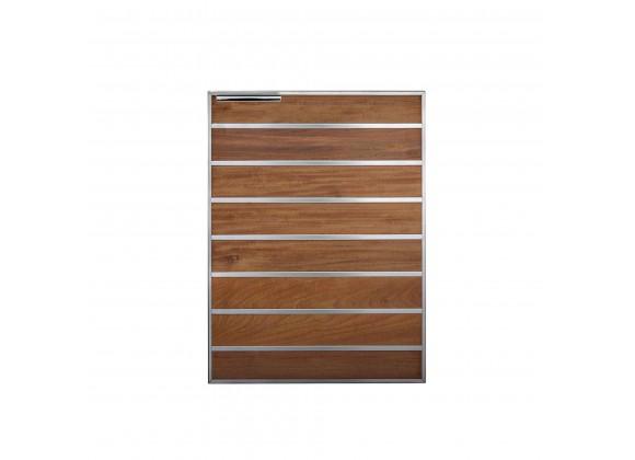 """Summerset Grills Madera 20"""" Ipe/Teak Vertical Access Door - Front"""