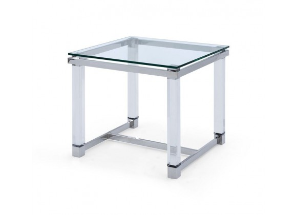 Brianna Side Table - Angled
