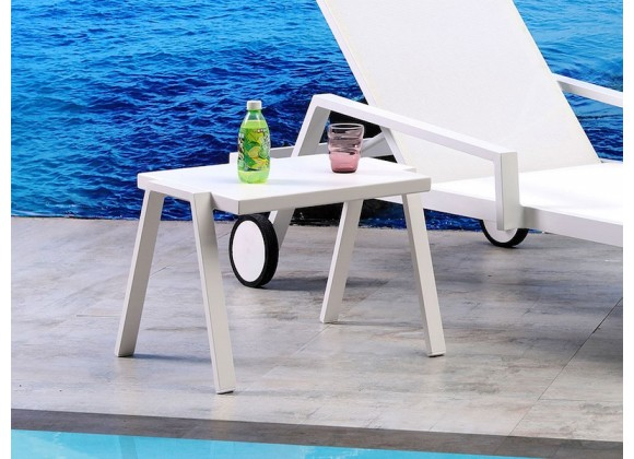 Whiteline Modern Living Rio Indoor / Outdoor Side Table
