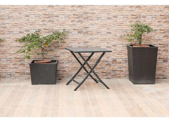 Flint Indoor/Outdoor Steel Side Table