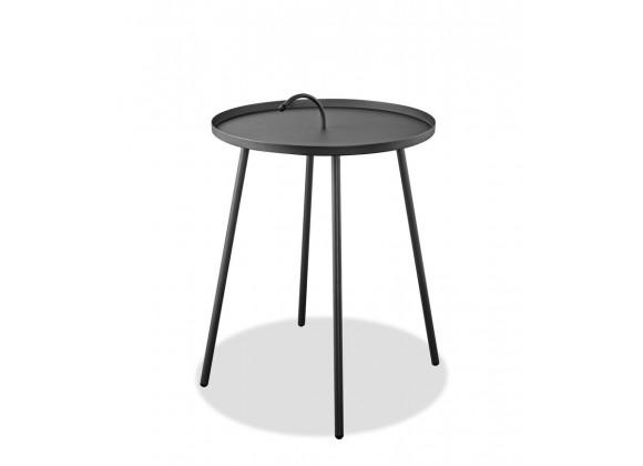 Jett Indoor/Outdoor Steel Side Table