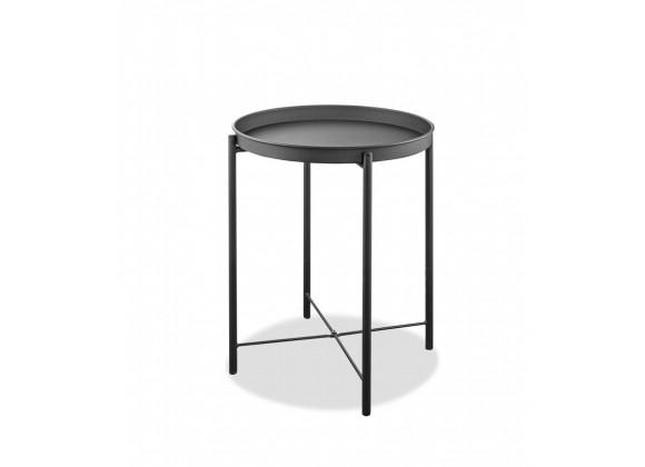 Drake Indoor/Outdoor Steel Side Table