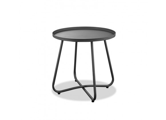 Talon Indoor/Outdoor Steel Side Table