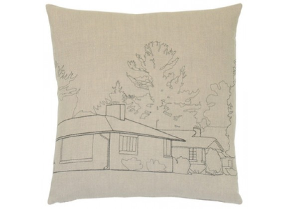 k studio Streetscape Pillow