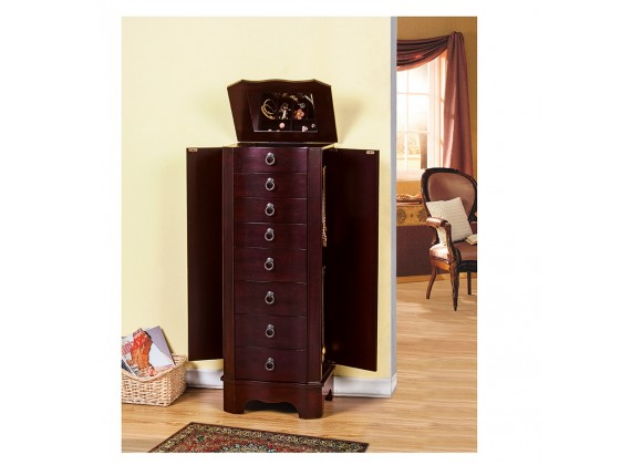Berkeley Jewelry Armoire - Sides Opened