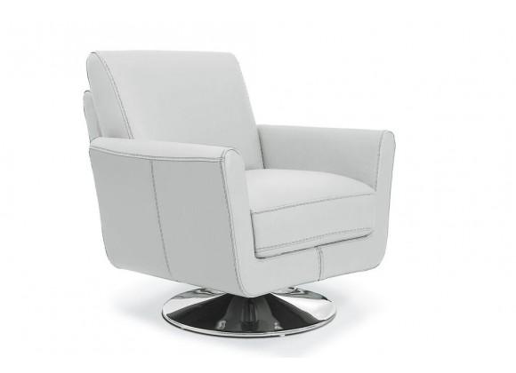 Syria Swivel Chair Light Grey
