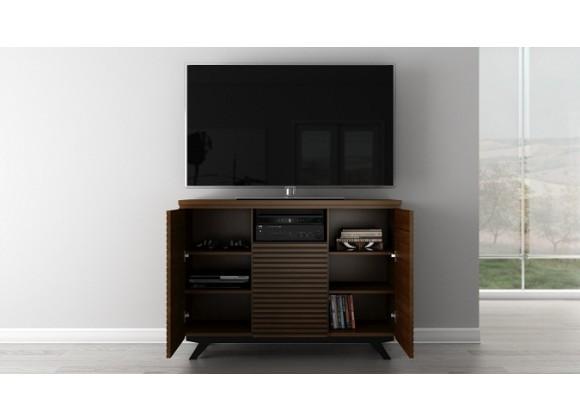 "Furnitech Tango 47"" Mid - Century Modern Media Storage Dresser"